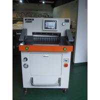 China DB-490V8-1 49cm A4 Paper Cutting Machine With Hydraulic Program Control on sale