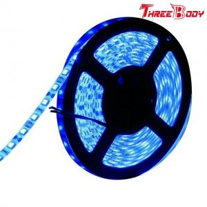 China 12V SMD RGB Led Strip Lights For Furniture 5M Cool Blue Flexible Energy Saving on sale