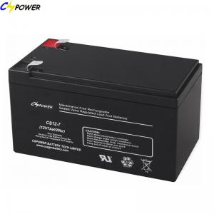 China Best selling 12V 7AH VRLA AGM UPS BATTERY (CS12-7) with 14 month free replacement warranty on sale