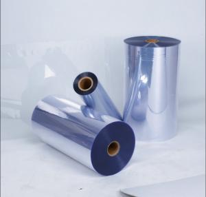 China Calendered Hard Pvc Blister Film Transparent PVC Plastic Sheet on sale