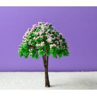 China Favorites Compare hot sale architecture scenery Scale Model Tree colorful model tree 8cm on sale