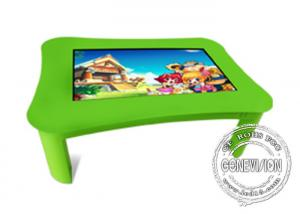 China School Ir Multi Touch Children Interactive Touch Screen Kiosk Table For Education on sale