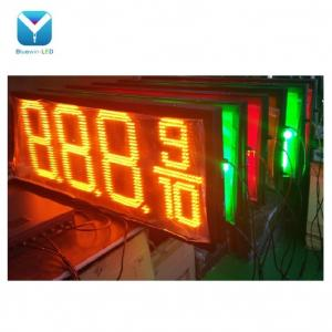 Outdoor Weatherproof Green Oil Petrol StationLED Gas Price Changer