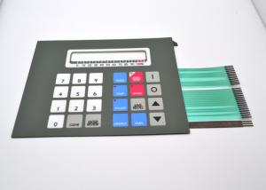 China Shielding Circuit Sealed Membrane Switches Multi Button Embossed Tactile Type on sale