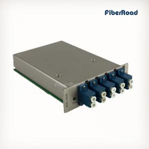 China 8CH Mux/Demux in 16 Slots Chassis for CWDM/DWDM Transmission on sale