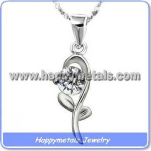 China Stainless steel imitation diamond jewellery on sale