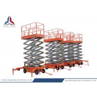 China Professional 12m Mobile Scissor Lift Table for Warehouse