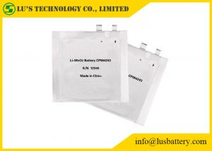 China Customized Capacity High Temperature Lithium Battery For Payment System 3.0V CP064248 on sale