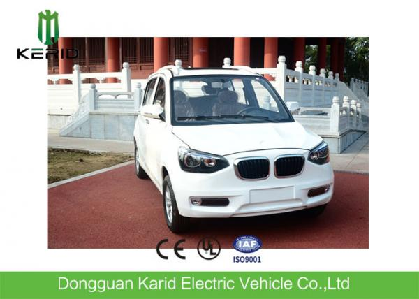 Long Range Four Passengers Small Electric Cars For Adults CE