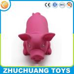 wholesale press sound pink pig animal doll toys