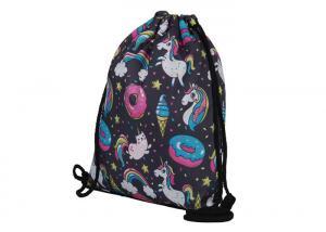 China Online Order Drawstring Bag Backpack , Backpack Sack Bags With Custom Design on sale