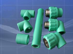 Green building materials pp-r Corrugated Steel Pipe Apply to