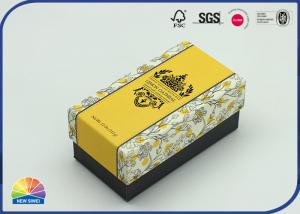 China Custom Hot Black Stamping Brand Paper Gift Rectangle Soapbox on sale