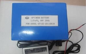 China 48V 15AH LiFePo4 Motive Batteries For Electric Bike / scooter / tricycle / golf cart on sale