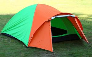 China Double Layer Backpacking Tent Windproof Waterproof Dome Tent for Camping Hiking Travel Climbing Easy Set Up Tent(HT6061) on sale