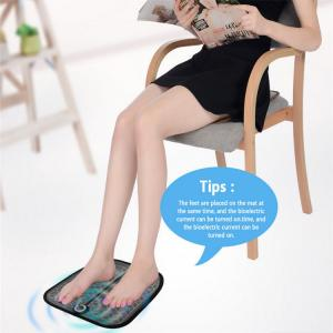 China Electric EMS Foot Massager ABS Physiotherapy Revitalizing Pedicure Tens Foot Vibrator Wireless Feet Muscle Stimulator Un on sale