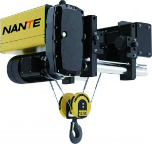 China 8 T/9 M Low Headroom Hoist , Electric Low Headroom Wire Rope Hoists For Heavy Work on sale