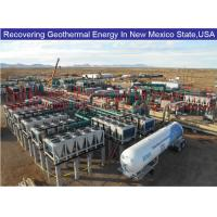 Steam Screw Expander Generators recover flash steam and hot water from Geothermal well to electricity