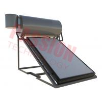 China Kitchen Use Flat Plate Solar Water Heater , Pressurised Heating System High Heat Efficient on sale