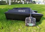 Autopilot rc fishing boat with fish finder DEVC-300 black radio control