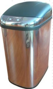 China Hotel 25L Stainless Steel Sensor Dustbin , Kitchen Garbage Can on sale