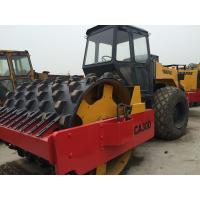 Dynapac CA30D Second Hand Road Roller , Pull Behind Rubber Tire Roller For Sale