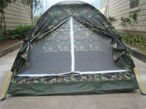 China Travelling Outdoor Waterproof Camouflage Camping Tent / 2 Person Backpacking Tent on sale