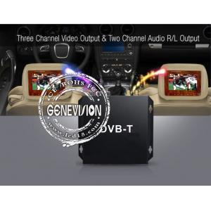 China Le récepteur de Digital TV de voiture de HD DVB-T avec l'active de 2 tuners de Dibcom a amplifié l'antenne on sale