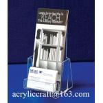 Customized Acrylic Brochure Holder / Brochure Racks
