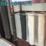 Fiberglass  Dust Collector Filter Bags Stainless steel Rings PTFE membrane