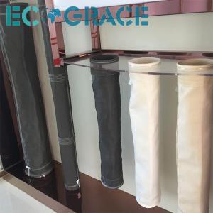 China Pulse Jet / Reverse Air Filter Fiberglass Filter Bag PTFE membrane on sale