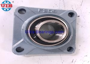 China 4 Bolt Flange Mounted Pillow Block Bearings UCF209 45mm Heavy Low Friction on sale