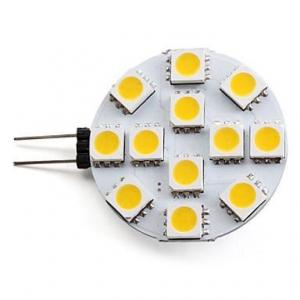 China Warm white G4 2.5W 3528 / 5050 SMD LED Spotlight 12V DC With High Bright SMD LED on sale