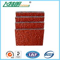 China PU Glue Mix SBR Rubber Particle Running Track Materials Outdoor Playground on sale