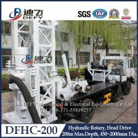 Factory Price 200m Depth Hydraulic Drilling Machines on Truck DFHC-200