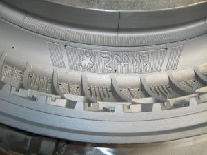 China EDM Produce Motorcycle Tyre Mould / Moulding Making Tire Mould For Automobile supplier