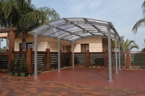 Sunor 19x10 Canopy Patio Cover Made Of Strong Aluminum Frame 10 Mm Polycarbonate Sheet