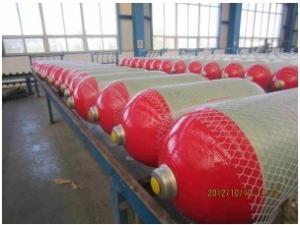 China CNG cylinder, high pressure steel CNG cylinder, CNG cylinder for vehicle, OD356mm, Type 2 on sale