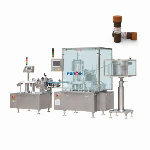 China 2KW Plc Liquid Test Tube 3ml Aseptic Filling Machine on sale
