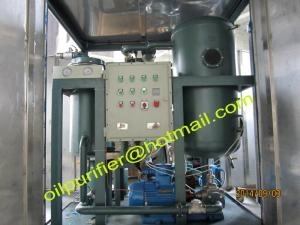 China Turbine Oil Cleaning Systems by vacuum distillation,Purification Systems,Turbine Lube Oil Purifier exporter on sale