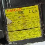 Motor de CA de A06B-0373-B075 Fanuc A06B0373B075 USADO