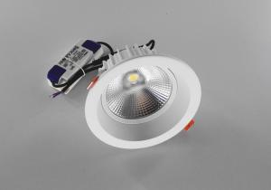 China 12W 4000K Indoor COB Ceiling Lights / Recessed LED Downlight For Homes on sale