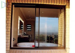 Quality Aluminium Double Glazing Horizontal Sliding Windows Impact And Abrasion Resistant for sale