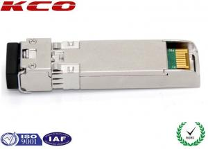 Single Mode LC Duplex Port SFP Fiber Optic Transceiver Compatible
