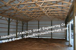 China Chicken Poultry Shed Steel Construction and Animal Farm Building Steel Cow Shade on sale