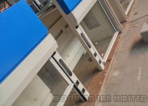 China Stainless Steel Painted Steel MDF Modular Laboratory Furniture Bench Fume Hood on sale