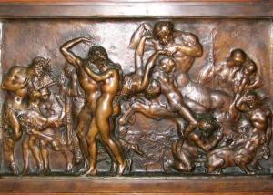 Quality Decorative Public Bronze Relief Sculpture Figurine OEM / ODM Available for sale