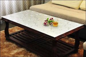 China Modern Decorative Custom Clear Table Protector Pad , Fire Resistant on sale