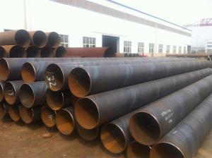 Spiral Welded Large Diameter Steel Pipe / Round Steel Tubing