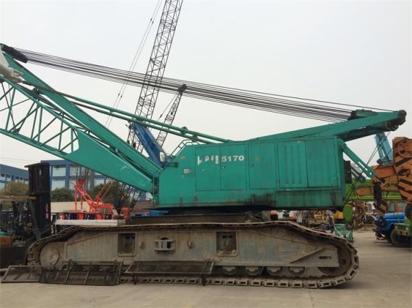 150 Ton Kobelco Used Crawler Crane P&H 5170 Export to all